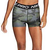Nike Pro Women's Camo Shorts