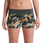 Nike Women's Camo Swim Board Shorts