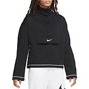 Nike Women's Sportswear Swoosh 1/2 Zip Fleece Top