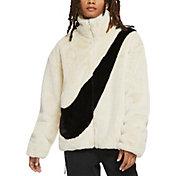 Nike Women's Sportswear Faux Fur Full-Zip Jacket