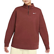 Nike Women's Sportswear ¼ Zip Fleece Pullover