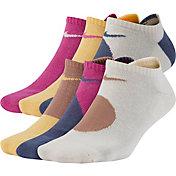 Nike Women's Everyday Cushioned No-Show Socks – 6 pack