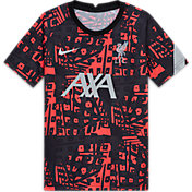 Nike Youth Liverpool Black Pre-Match Jersey