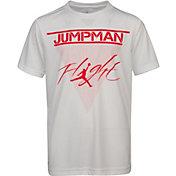 Jordan Boys' Dri-FIT Jumpman Flight Logo T-Shirt