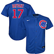 Nike Youth Replica Chicago Cubs Kris Bryant #17 Cool Base Royal Jersey