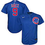 Nike Youth Replica Chicago Cubs Javier Baez #9 Cool Base Royal Jersey
