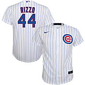 Nike Youth Replica Chicago Cubs Anthony Rizzo #44 Cool Base White Jersey