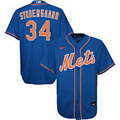 Nike Youth Replica New York Mets Noah Syndergaard #34 Cool Base Royal Jersey