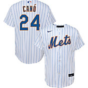 Nike Youth Replica New York Mets Robinson Cano #24 Cool Base White Jersey