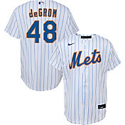 Nike Youth Replica New York Mets Jacob deGrom #48 Cool Base White Jersey