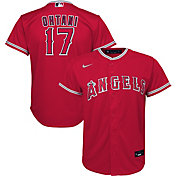 Nike Youth Replica Los Angeles Angels Shohei Ohtani #17 Cool Base Red Jersey