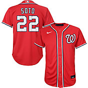 Nike Youth Replica Washington Nationals Juan Soto #22 Cool Base Red Jersey