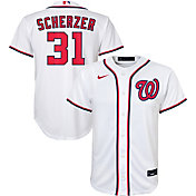 Nike Youth Replica Washington Nationals Max Scherzer #31 Cool Base White Jersey