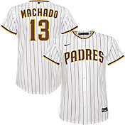 Nike Youth Replica San Diego Padres Manny Machado #13 Cool Base White Jersey