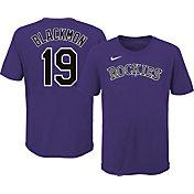 Nike Youth Colorado Rockies Charlie Blackmon #19 T-Shirt