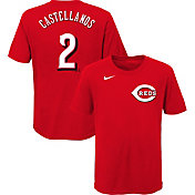 Nike Youth Cincinnati Reds Nick Castellanos #2 Red T-Shirt