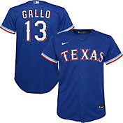 Nike Youth Replica Texas Rangers Joey Gallo #13 Cool Base Blue Jersey