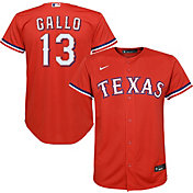 Nike Youth Replica Texas Rangers Joey Gallo #13 Cool Base Red Jersey