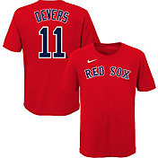 Nike Youth Boston Red Sox Rafael Devers #11 Red T-Shirt