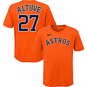 Nike Youth 4-7 Houston Astros Jose Altuve #27 Orange T-Shirt