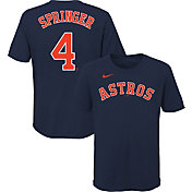 Nike Youth Houston Astros George Springer #4 Navy T-Shirt
