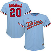 Nike Youth Replica Minnesota Twins Eddie Rosario #20 Cool Base Blue Jersey