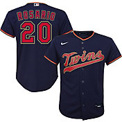 Nike Youth Replica Minnesota Twins Eddie Rosario #20 Cool Base Navy Jersey