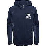 Gen2 Youth New York Yankees Navy No Glory Long Sleeve Full-Zip Jacket