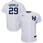Nike Youth Replica New York Yankees Gio Urshela #29 Cool Base White Jersey