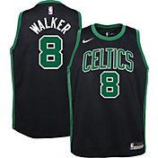 Nike Youth Boston Celtics Kemba Walker #8 Black Dri-FIT Statement Swingman Jersey