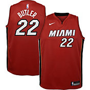 Nike Youth Miami Heat Jimmy Butler #22 Red Dri-FIT Statement Swingman Jersey