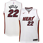 Nike Youth Miami Heat Jimmy Butler #22 White Dri-FIT Swingman Jersey
