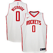 Nike Youth Houston Rockets Russell Westbrook #0 Dri-FIT Statement Swingman Jersey