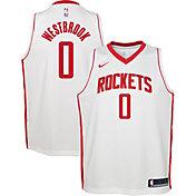 Nike Youth Houston Rockets Russell Westbrook #0 Dri-FIT Statement Swingman Jersey