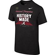 Nike Youth 2020 National Champions Alabama Crimson Tide Locker Room T-Shirt