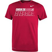 Nike Youth Alabama Crimson Tide Crimson Dri-FIT Legend Performance T-Shirt