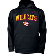 Nike Youth Bethune-Cookman Wildcats Therma Pullover Black Hoodie