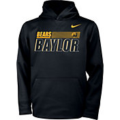 Nike Youth Baylor Bears Therma Pullover Black Hoodie