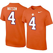 Nike Youth Deshaun Watson Clemson Tigers #4 Orange College Alumni Core T-Shirt