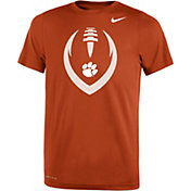 Nike Youth Clemson Tigers Orange Legend Performance Football T-Shirt
