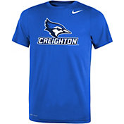 Nike Youth Creighton Bluejays Blue Dri-FIT Legend T-Shirt
