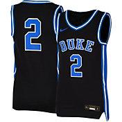 Nike Youth Duke Blue Devils #2 Black Replica Basketball Jersey