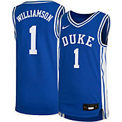 Nike Youth Zion Williamson Duke Blue Devils #1 Duke Blue Replica Basketball Jersey