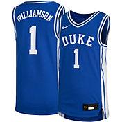 Nike Youth Zion Williamson Duke Blue Devils #1 Duke Blue Replica Basketball Jersey
