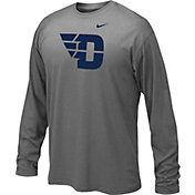 Nike Youth Dayton Flyers Grey Legend Core Long Sleeve Shirt