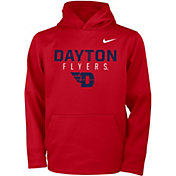 Nike Youth Dayton Flyers Red Therma Logo Hoodie