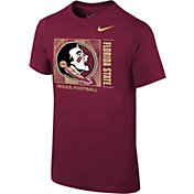 Nike Youth Florida State Seminoles Garnet Core Cotton T-Shirt
