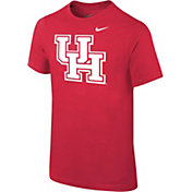 Nike Youth Houston Cougars Red Core Cotton T-Shirt