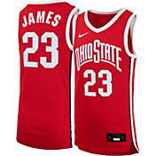 Nike Youth LeBron James Ohio State Buckeyes #23 Scarlet Replica Basketball Jersey