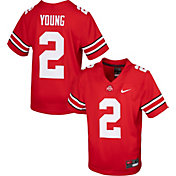 Nike Youth Replica Ohio State Buckeyes Chase Young #2 Scarlet Jersey